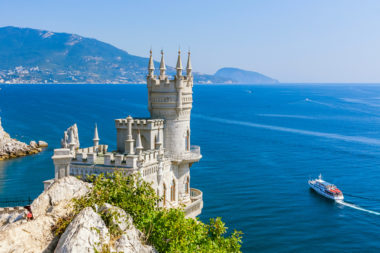 Castle Museum Swallow's Nest. Designed by architect Alexander Sh
